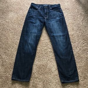 NWOT Lucky Brand 329 classic straight jeans 35x32